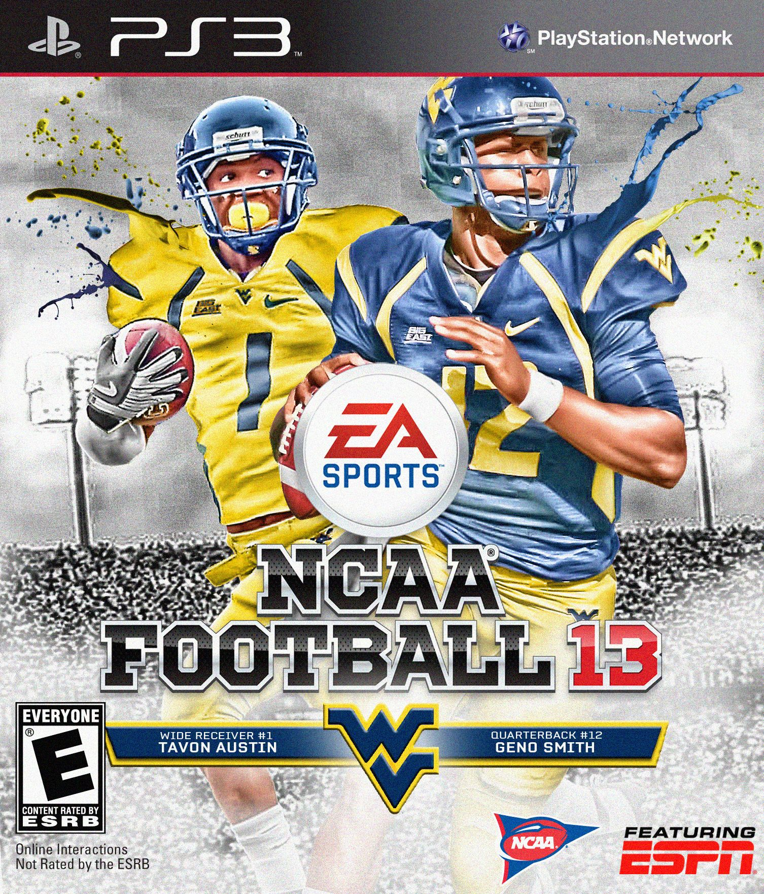 Tavon Austin and Geno Smith - West Virginia Mountaineers  a81cd9ba7