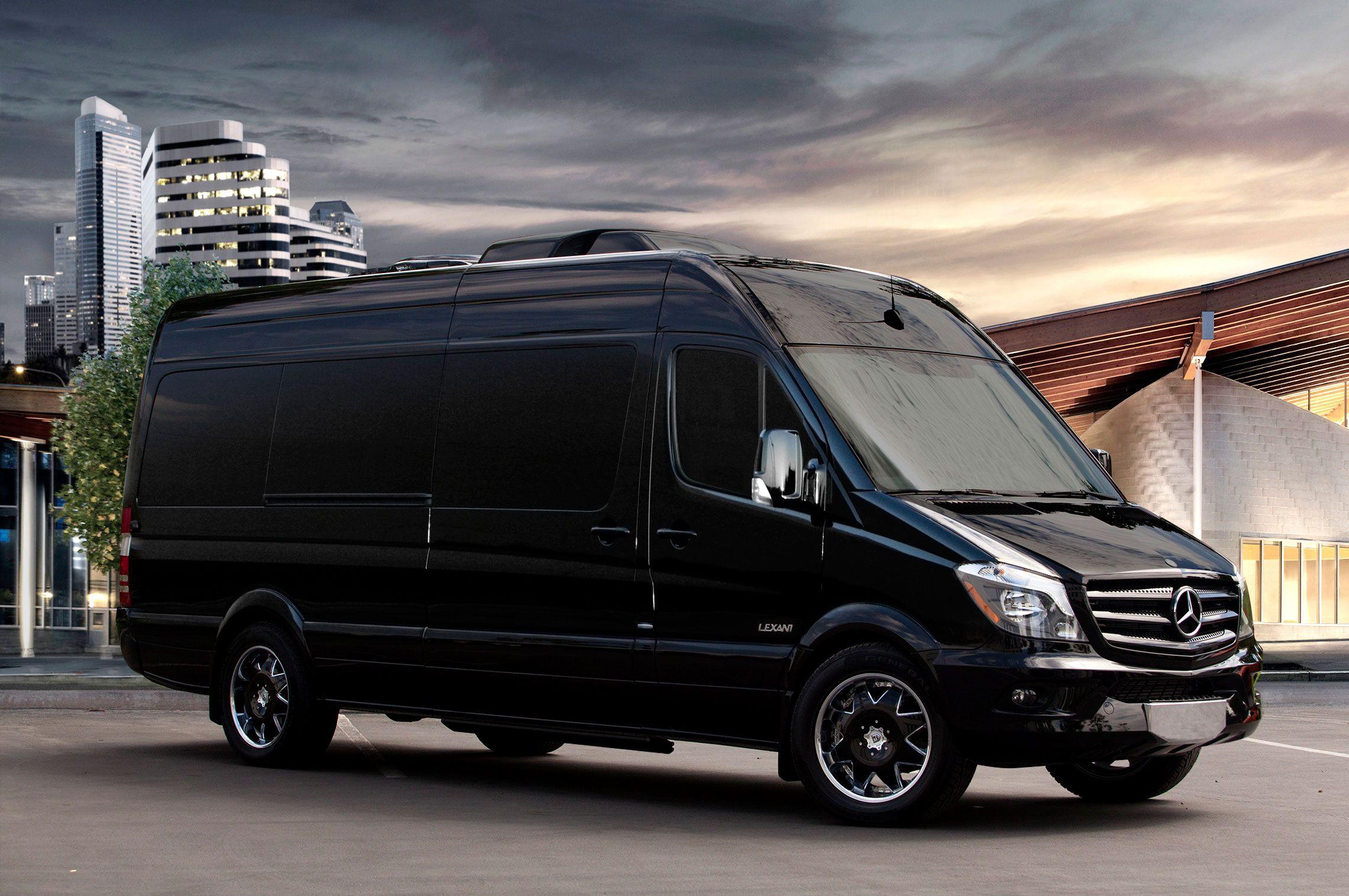 2017 mercedes sprinter benz van luxury van limo limousine limo service