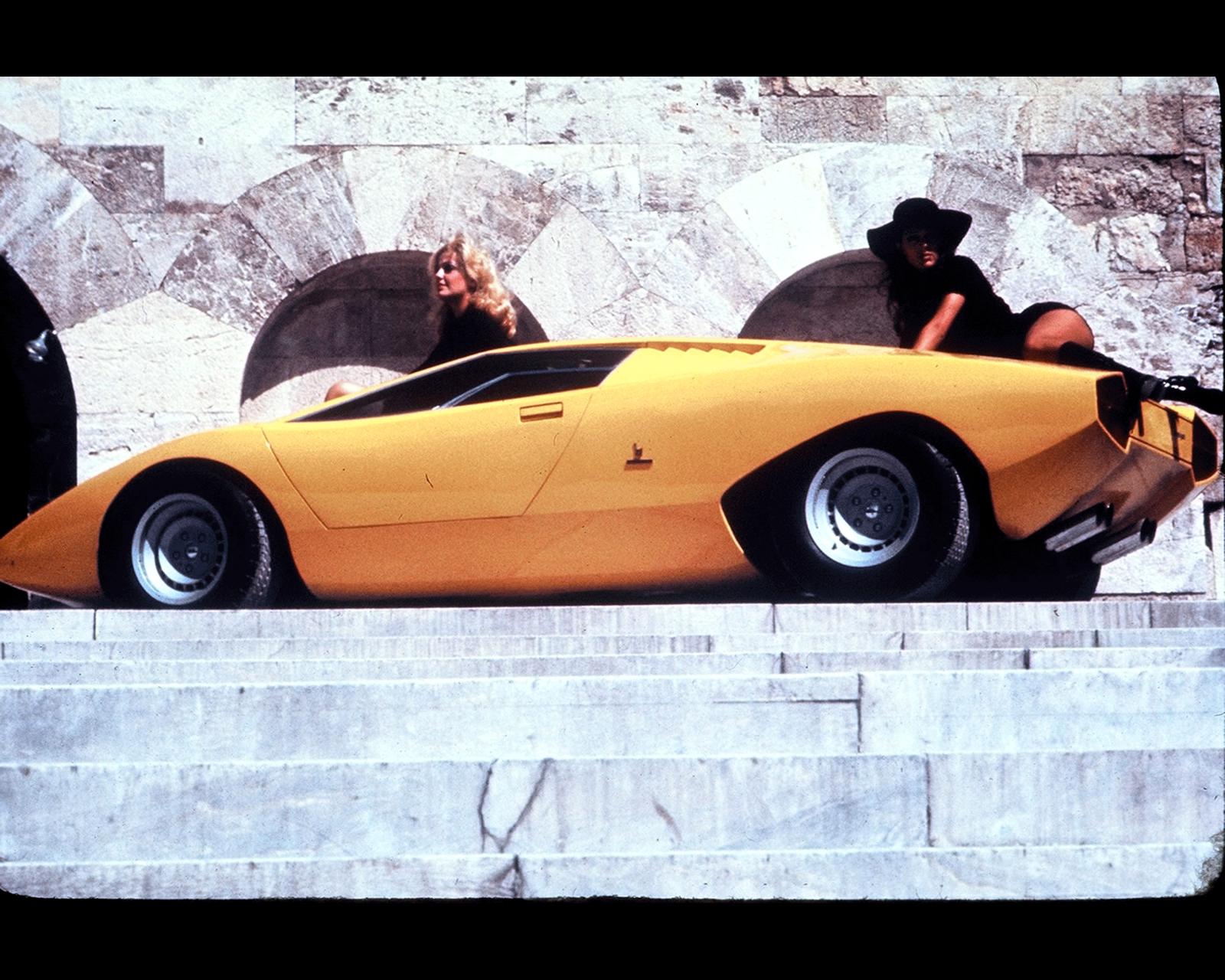 Sketchbook historic cars : An italian masterpiece - Lamborghini ...