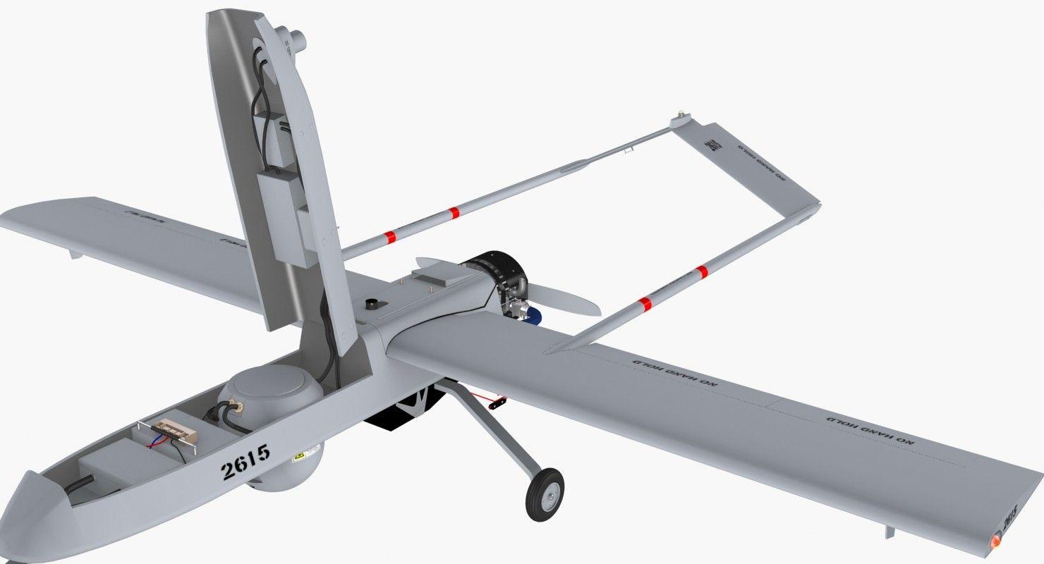 3D Aai Rq 7 Shadow 3D Model Model airplanes, Airplane