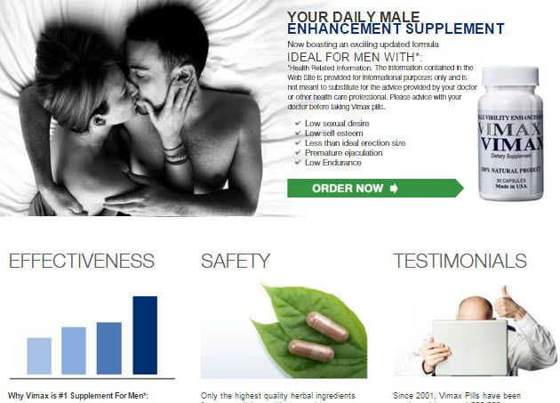 official website of vimax pills manufacturer for men click here