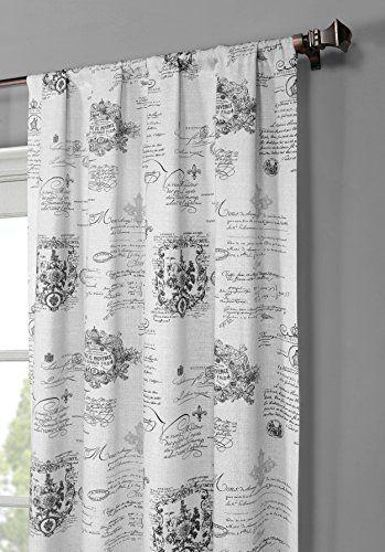 Window Elements Fleur De Lis Printed Cotton Extra Wide 104 X 96 In