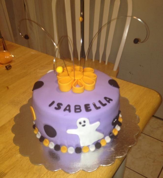 Halloween birthday cake Cakes Pinterest Birthday cakes and Cake - halloween birthday cake ideas