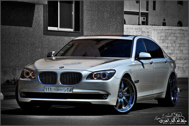 "BMW Performance Driving School >> 2009 BMW 750Li sets on 22"" Asanti rims (Saudi Arabia) by ..."