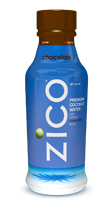 Zico Chocolate Coconut Water. This stuff is soooo tasty, and it's an awesome non-dairy alternative to chocolate milk. :)