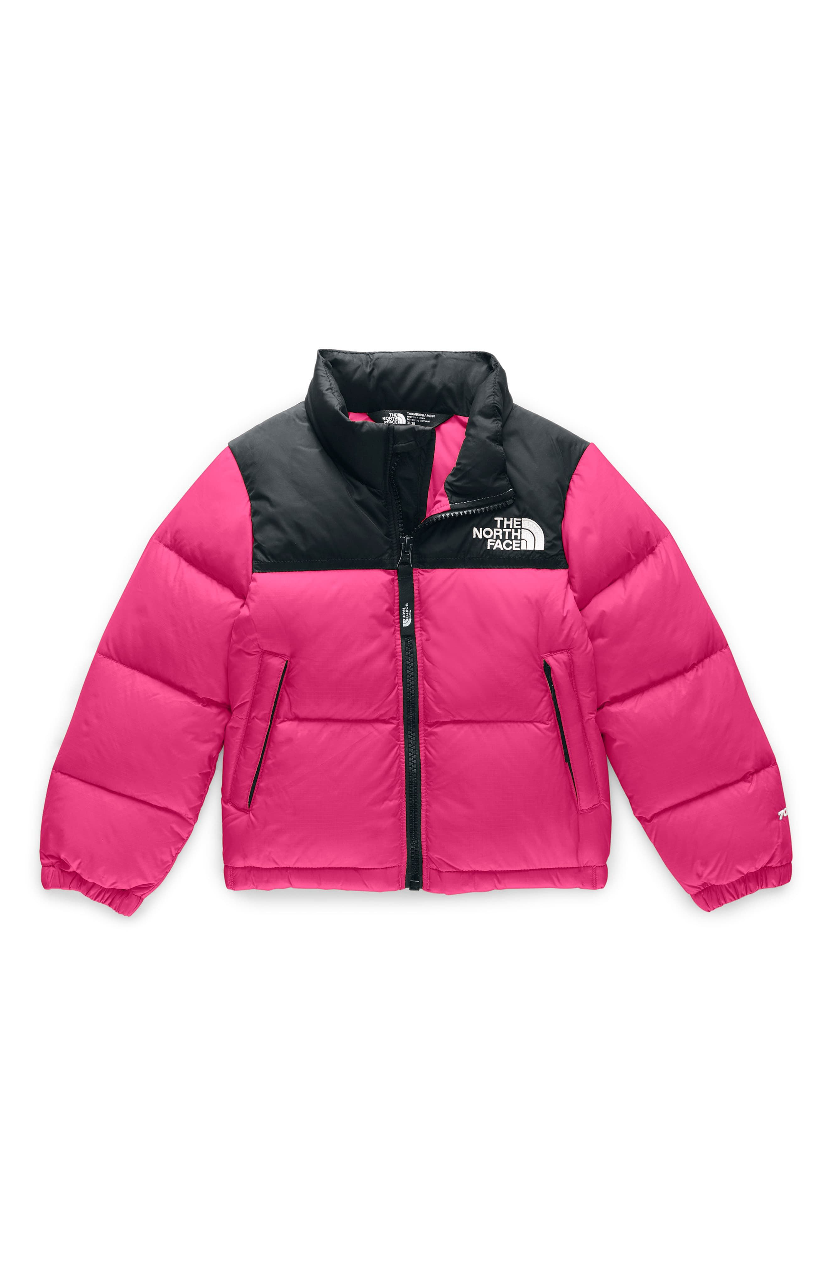 Toddler Girl S The North Face Nuptse 1996 700 Fill Power Down Jacket Size 2t Pink Down Jacket North Face Nuptse The North Face [ 4048 x 2640 Pixel ]