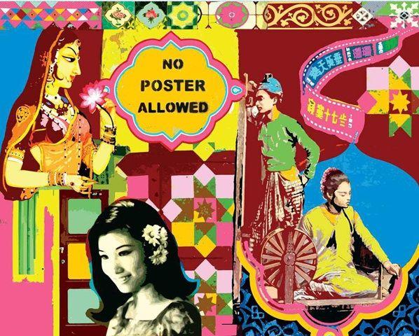 Indian Collage Hindu Art Pop Art Pop Artist