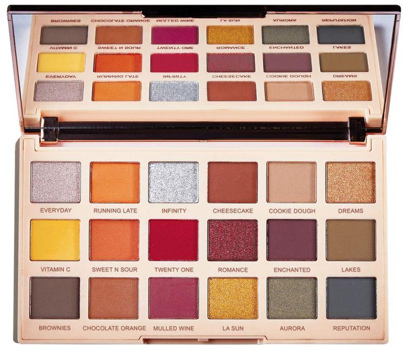 MAKEUP REVOLUTION – SOPH X – EXTRA SPICE PALETTE – Palette of 18 eye shadows
