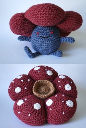 Vileplume pattern off of deviant art. LOVE the actual flower. Very ...
