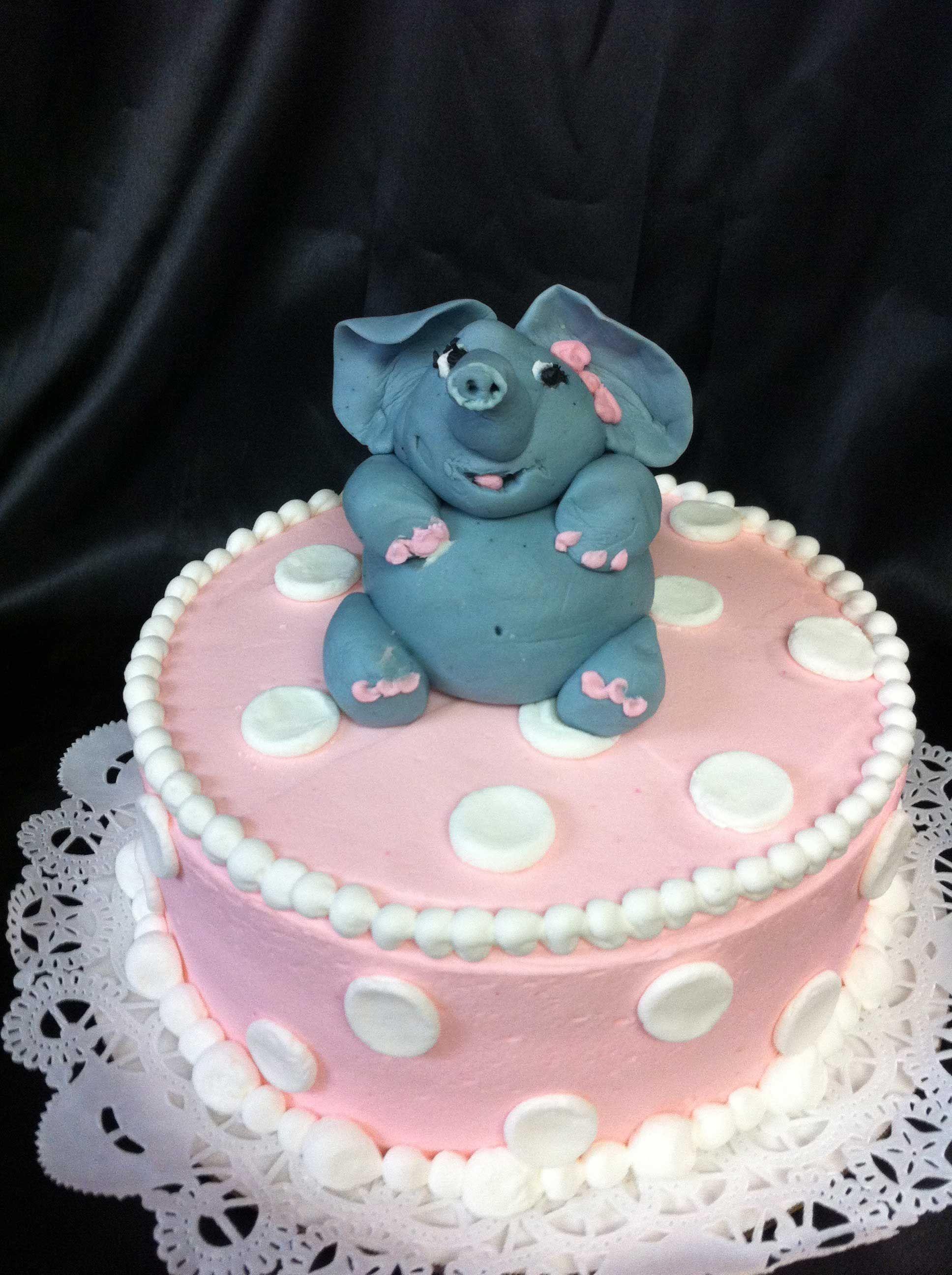 Elephant Cake, Bakery, Birthday cake
