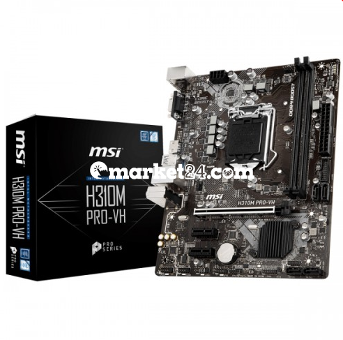 Msi H310m Pro Vh Ddr4 8th Gen Motherboard Price In Bangladesh Motherboard Msi Ddr4