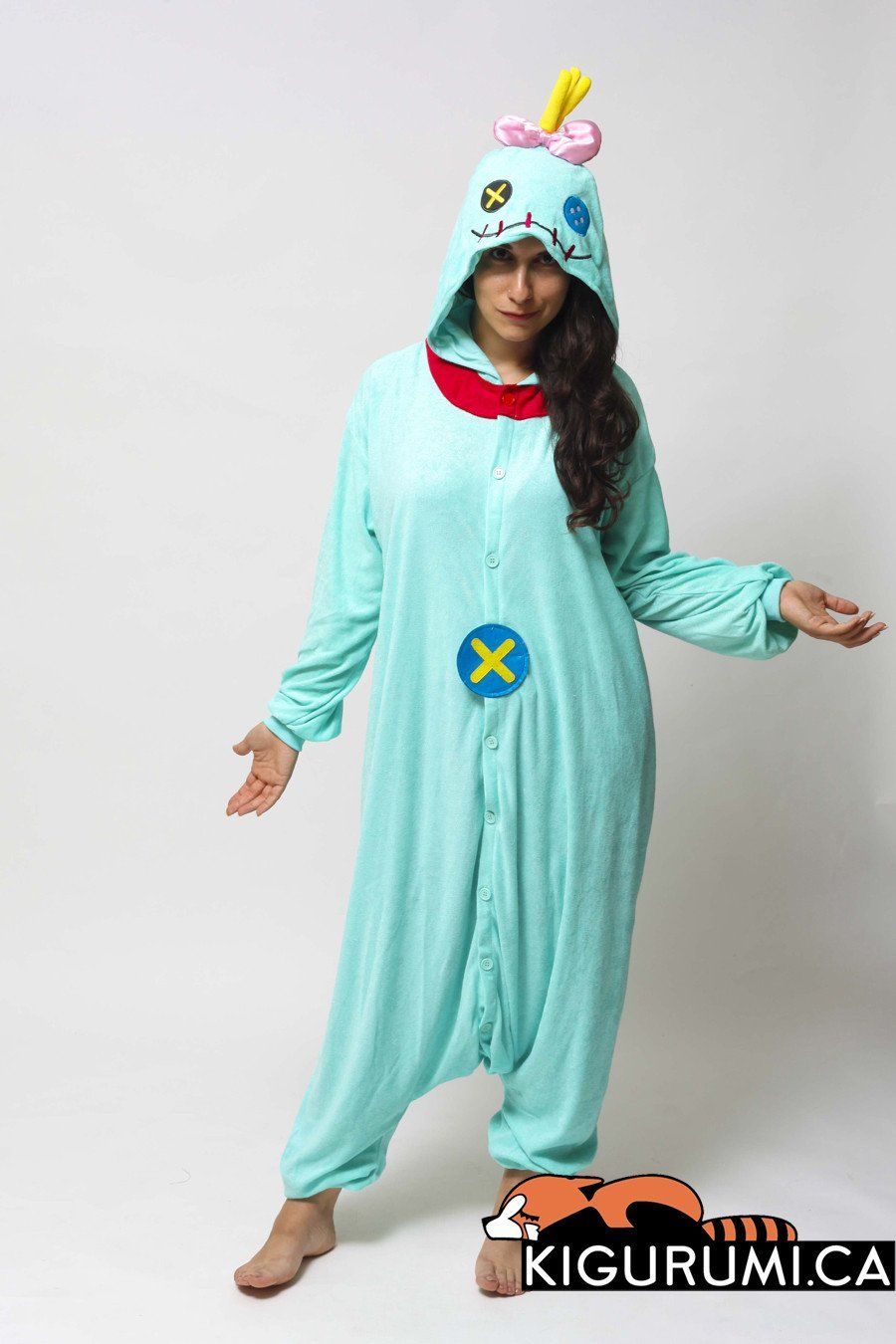 Terrycloth) Scrump Onesie Kigurumi Character Costume Adult Pajamas ...