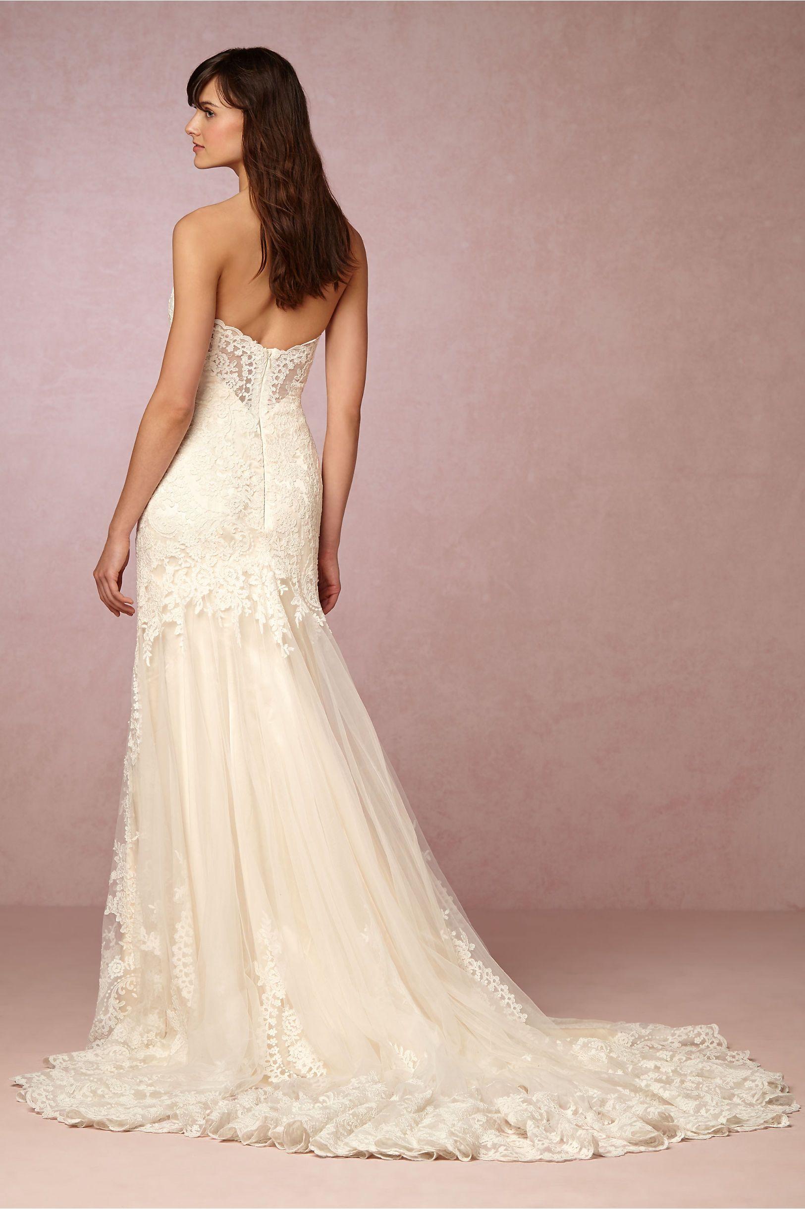 BHLDN Leigh Gown in Bride Wedding Dresses at BHLDN | Wedding ideas ...