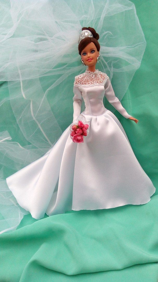 Sewing clothes for Barbie | VK | Vintage style wedding dress ...