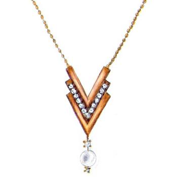 Vote para que o colar Glamour entre na nossa coleção na Linha Sofisticada.  #votejoiasco #achojoia Conheça outras peças em www.joiasco.com.br