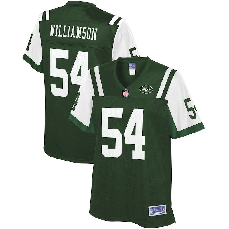 Avery Williamson New York Jets NFL Pro Line Women s Player Jersey – Green fbe1fb8d0