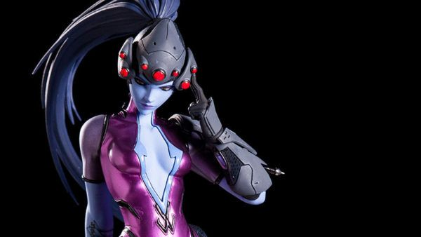 Blizzard Adds An Awesome Widowmaker Statue To Their Collectibles Line