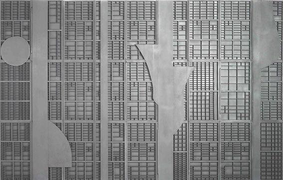 Louise Nevelson - City Series - 1974 - courtesy Fondazione Marconi, Milano | Artribune