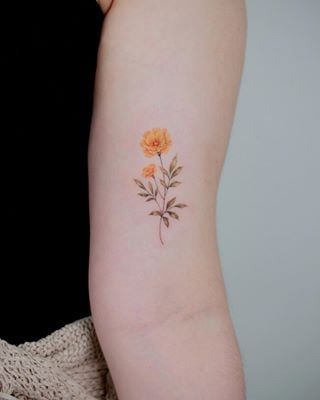 These Birth Flower Tattoos Will Make You Forget About Your Zodiac Sign