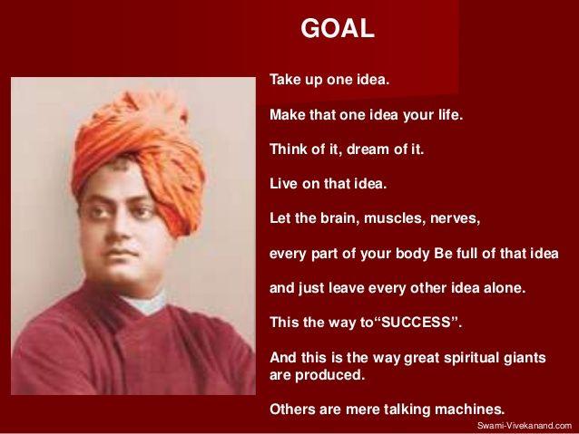 swami vivekananda thoughts one idea - Google Search