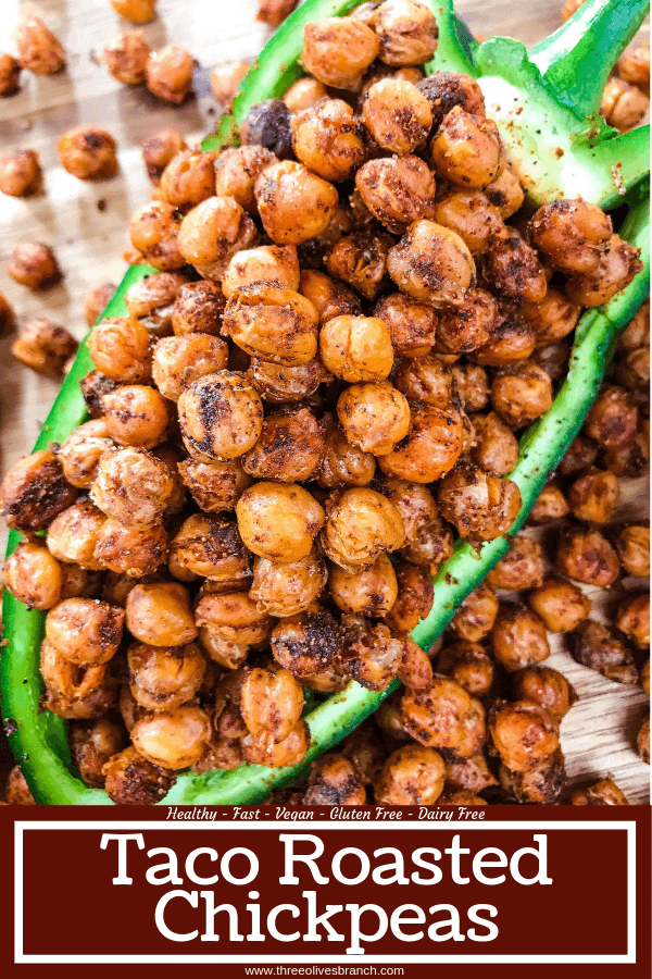 Taco Roasted Chickpeas