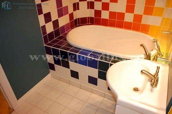 Ремонт маленькой ванной фото, Москва | РемГлобал Люкс