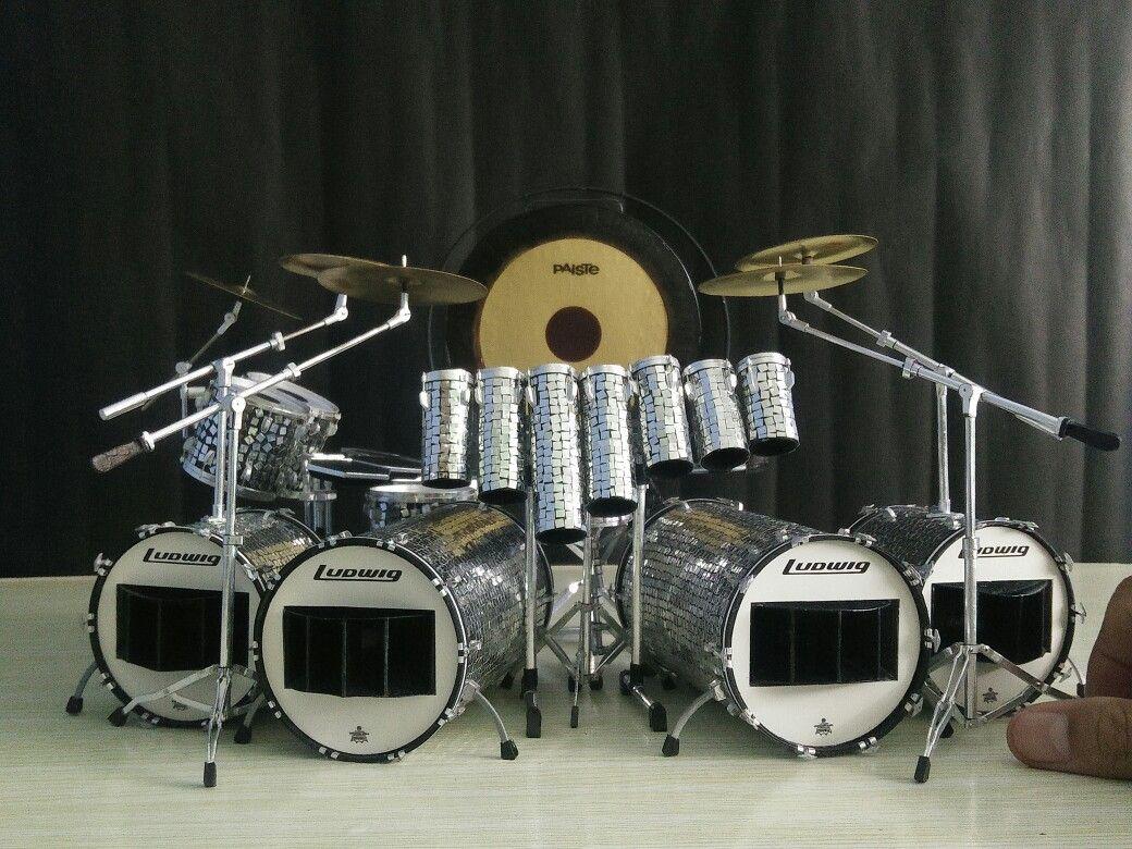 Alex Van Halen 1984 Touring Kit Replica Alex Van Halen Drum Kits Van Halen