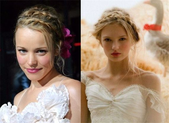 Front Braids 18 Best Wedding Hairstyles For Women With Thin Hair Everafterguide