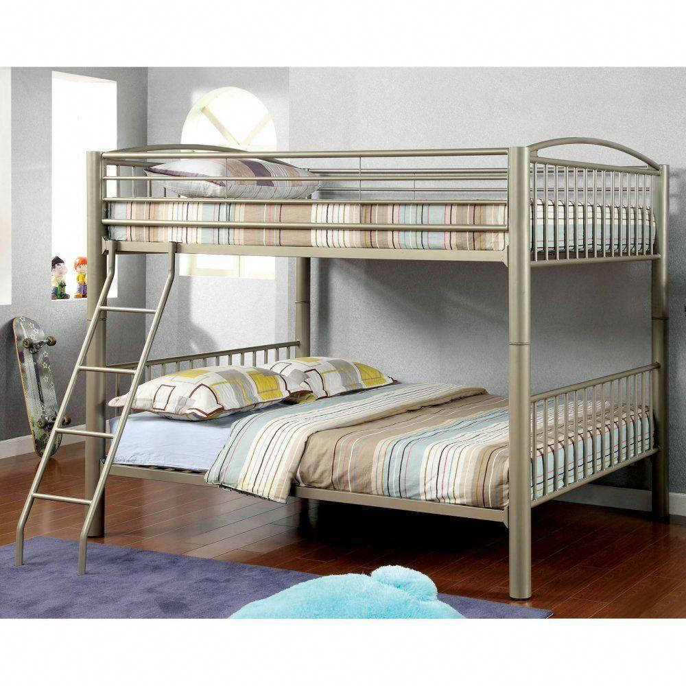 Maverick made multifunctional bunk bed metallic gold