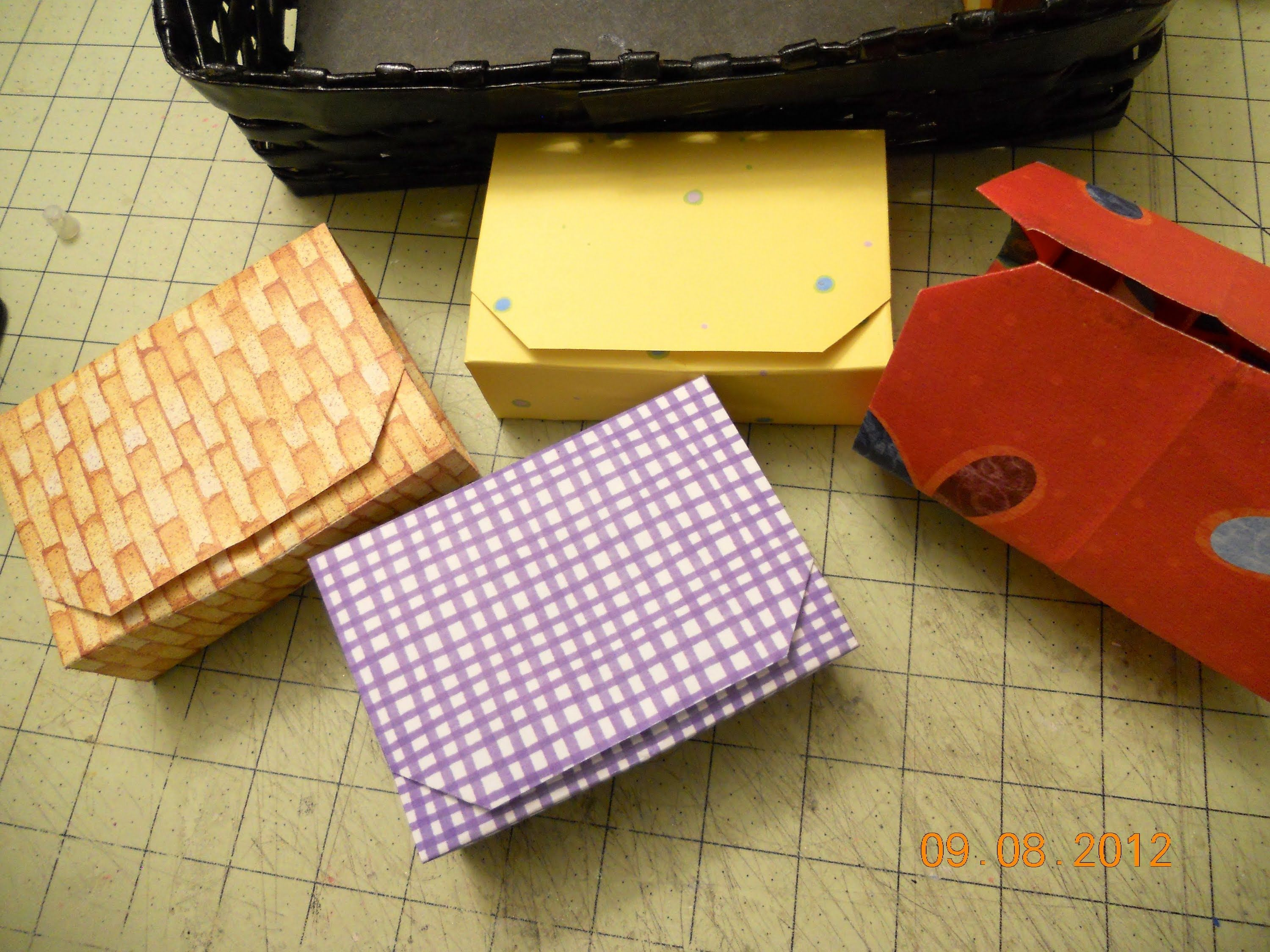 Created These Origami Bo As A Storage Solution For My Embellishments I Learn This Paper