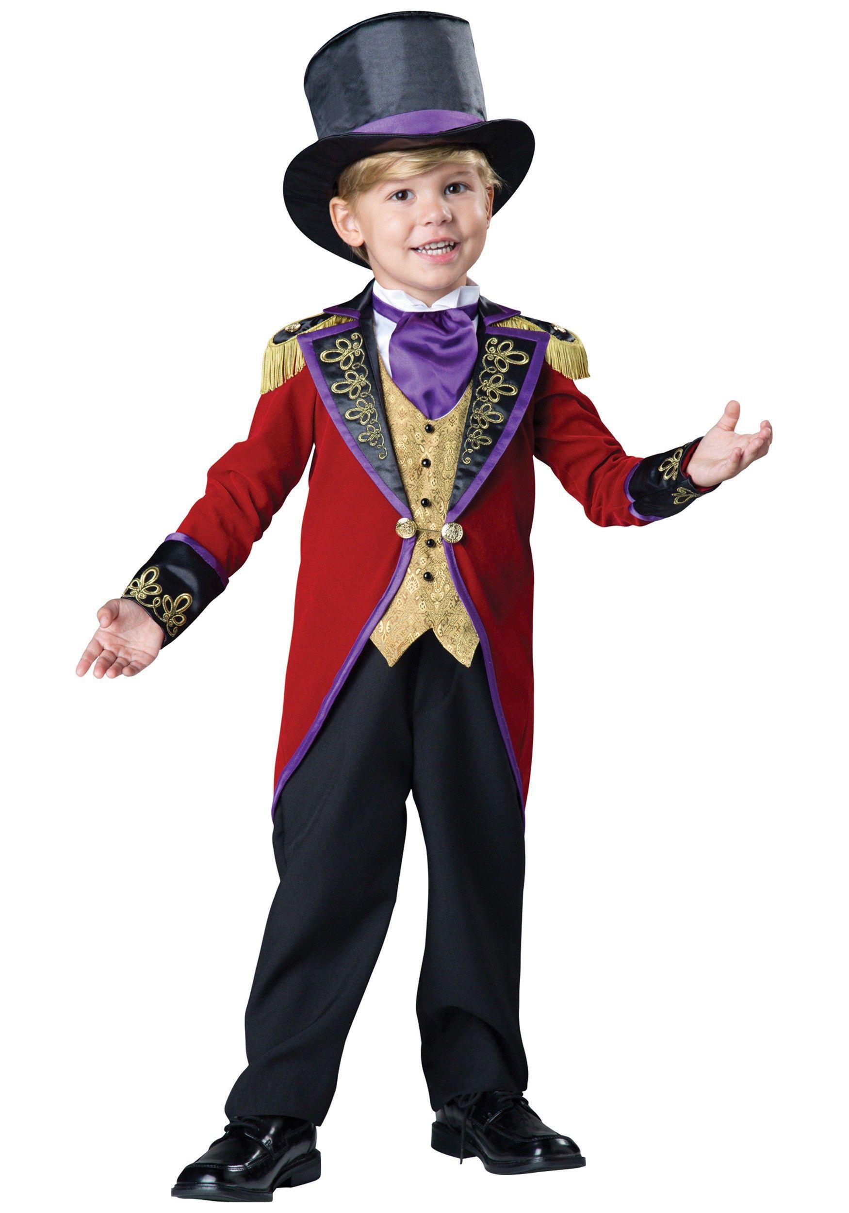 Toddler Ringmaster Costume | Ringmaster costume, Costumes and ...