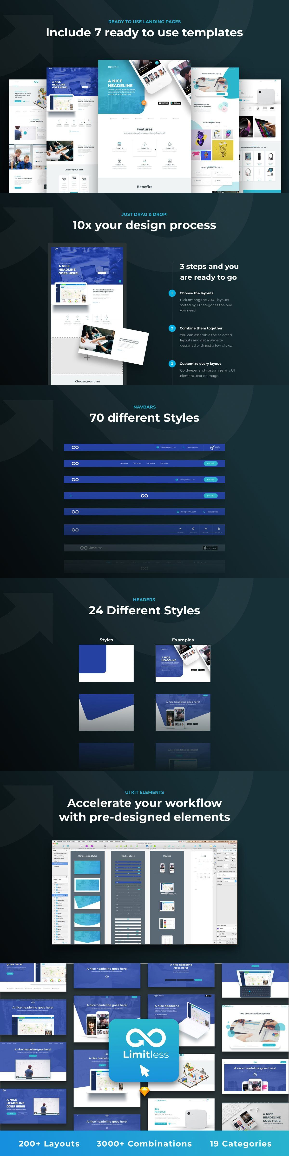 Limitless For Web Web Design Projects Web Design Limitless