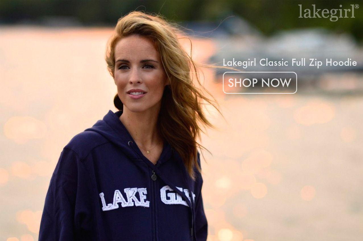 Lakegirl classic full zip hoodie