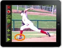 Baseball Instruction Slow Motion Pitching App Www Powerchalk Com Sports App Motion App