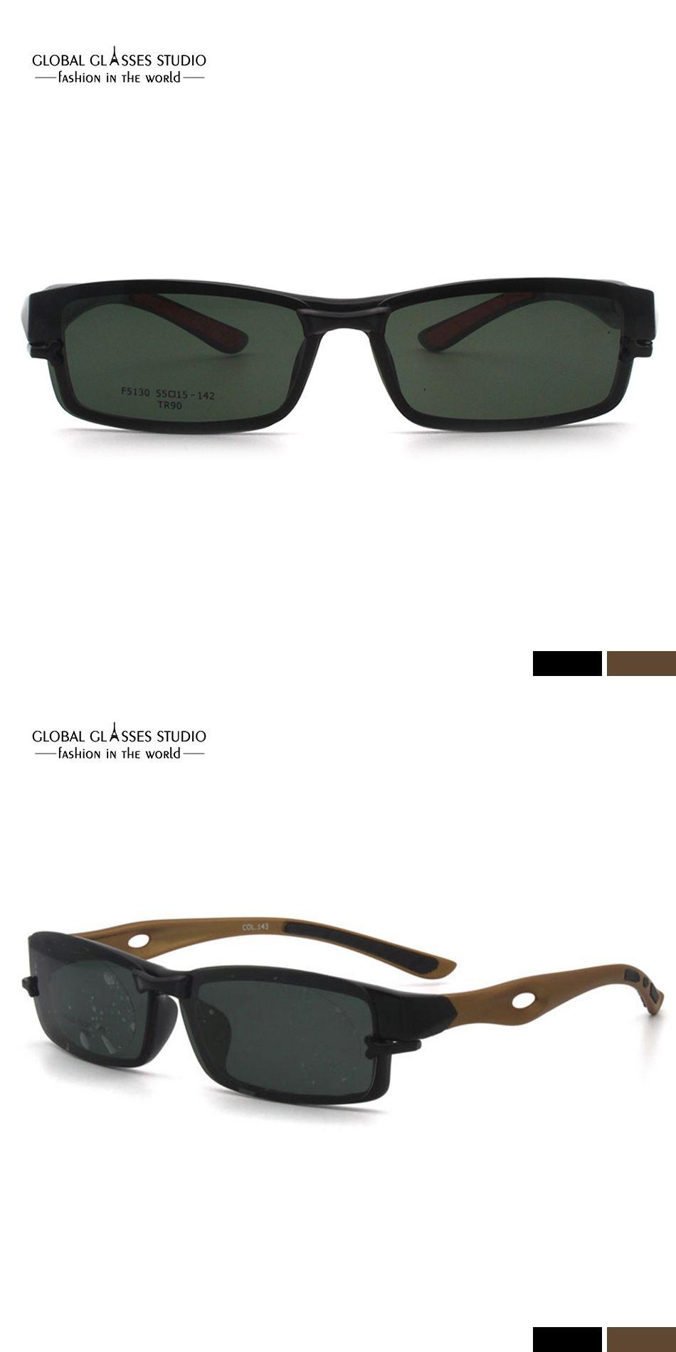 dafb488581 Free Shipping Women Men Black with Metal Glasses Eyeglasses Optical Frame  Eyewear F5130