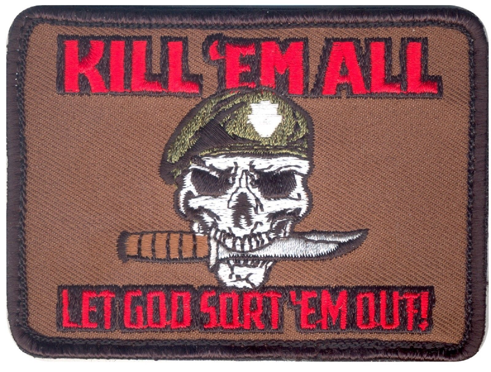 MilSpecMonkey Patch Zombie Hunter Klettpatch Klett Accessoire swat
