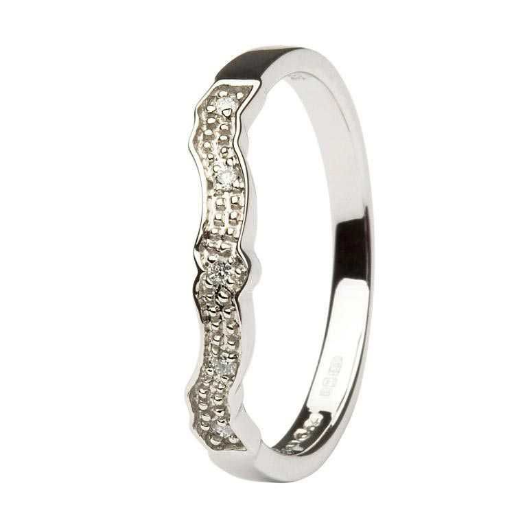 Diamond Set Matching Wedding Ring For (14L68) By Shanore