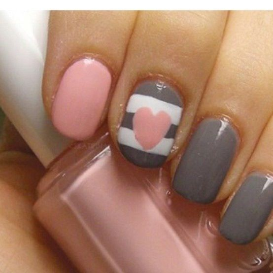 Nails- so cute for school