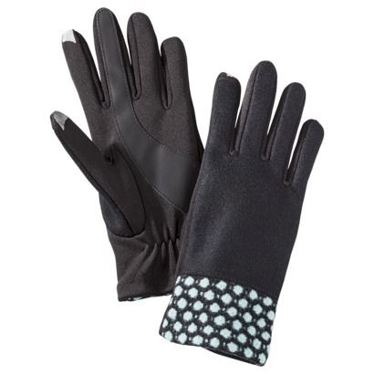 Cute Gloves! - 2014 Winter's Fashion Statement. Love the mint polka dots! Imagine, See, Do