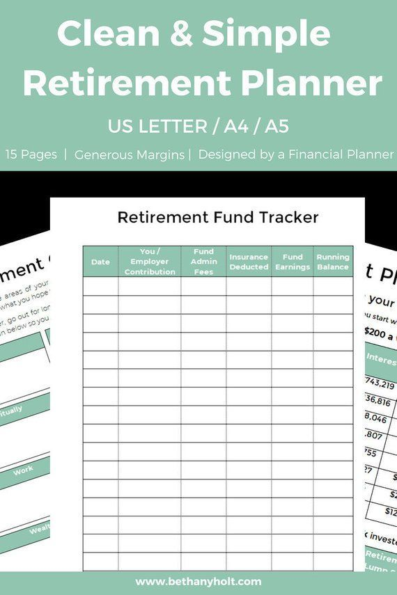 financial planner planner retirement retirement planner