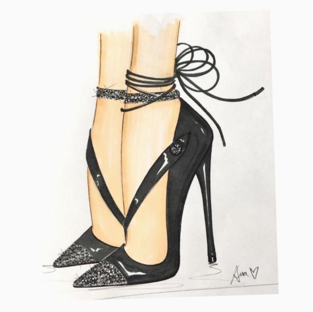 15+ Fashion Shoes Illustration High Heels   Fashion ...