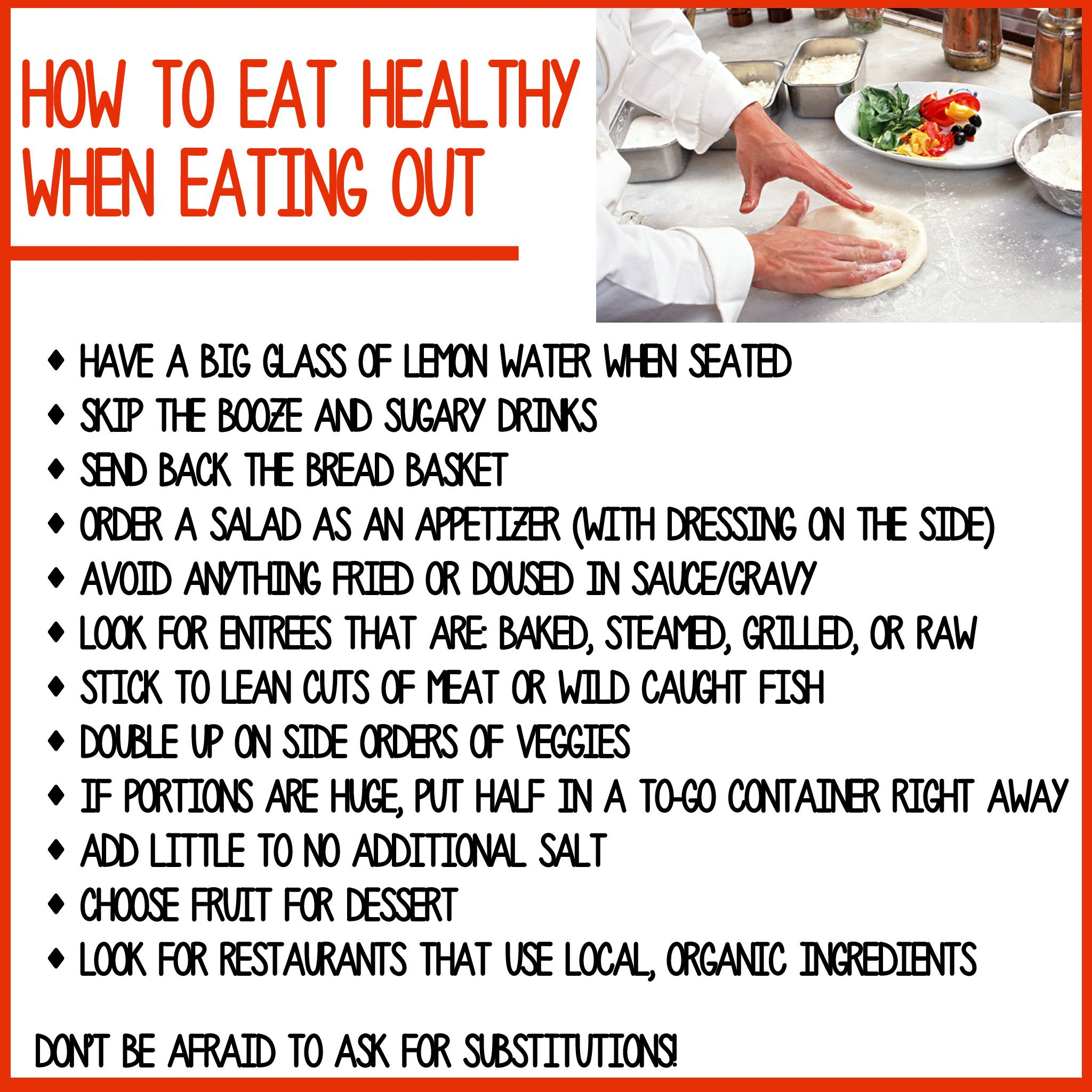 When Eating Out Healthy Tips | Healthy tips | Pinterest ...