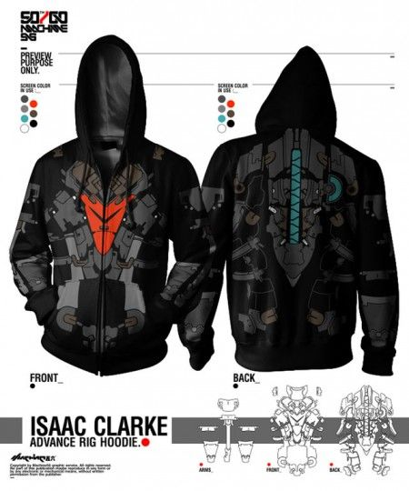 Dead Space 2 hoodie - I want o.o | DOOM | Dead space suits ...
