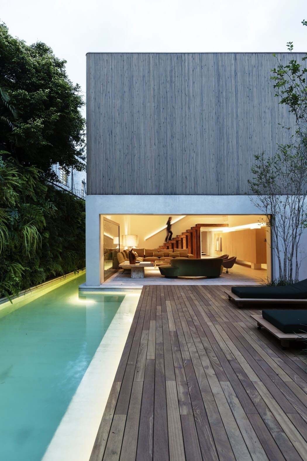 Modern Brazilian Home Embraces Transparency And Nature Architecture Modern Architecture Interior Architecture Design