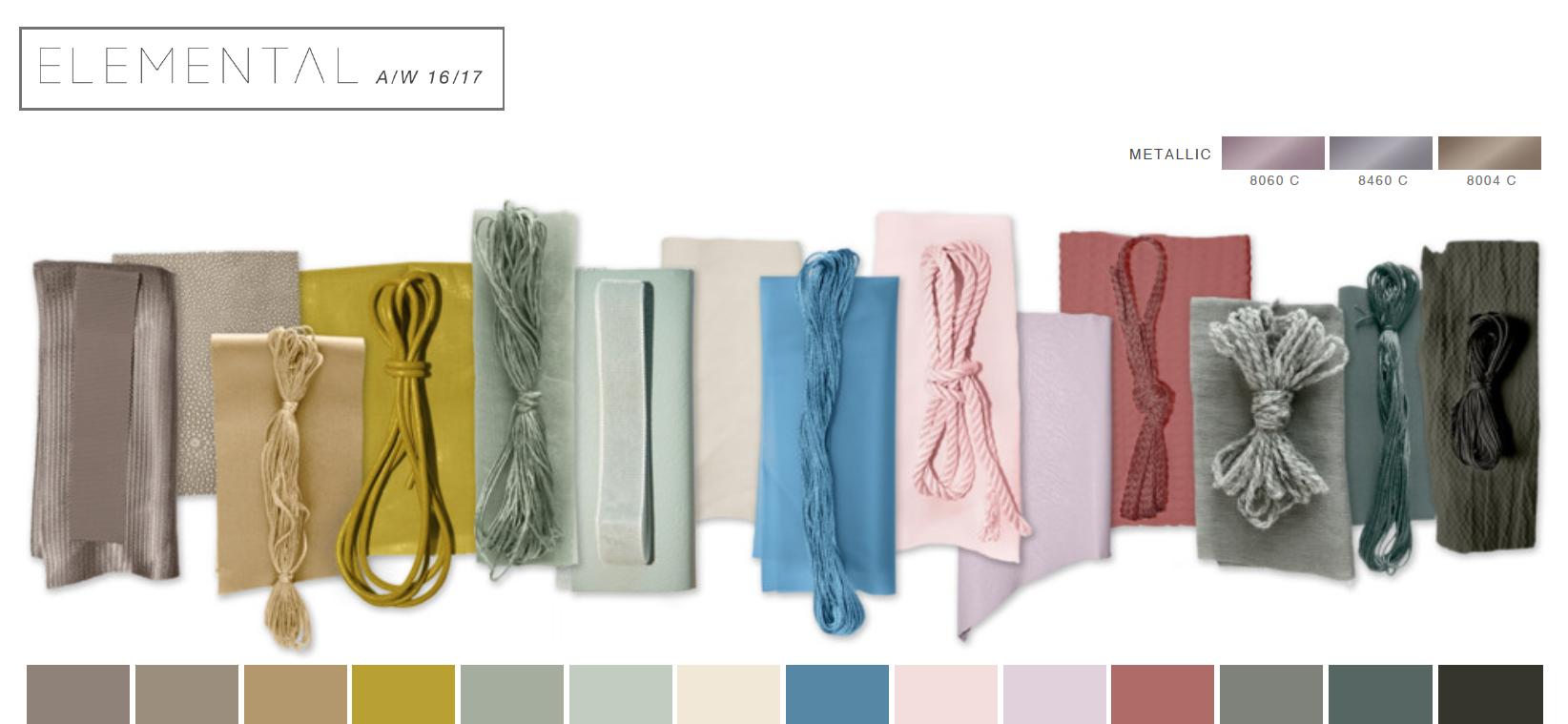 Colour palette by WGSN   Mega Trend AW 16/17 - ELEMENTAL ...