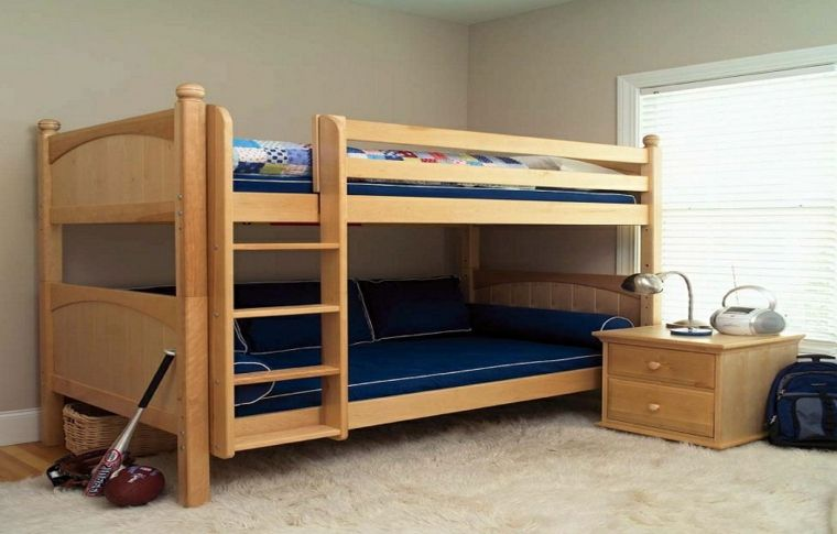 Diseños de camas para niños en madera - 24 imágenes - | camarote ...