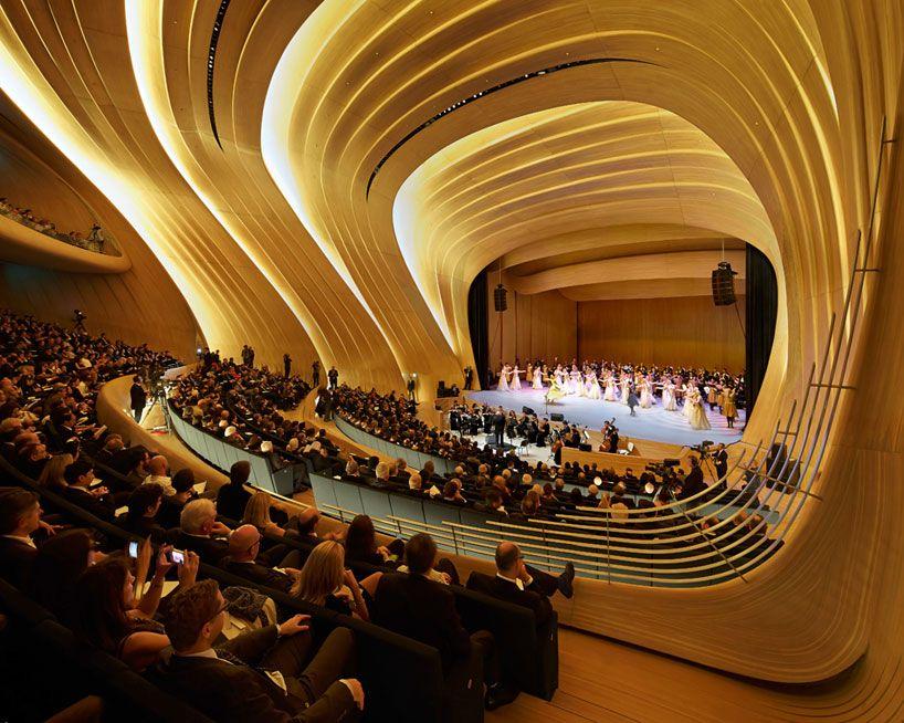 New Images Of Heydar Aliyev Center By Zaha Hadid Zaha Hadid Architecture Zaha Hadid Design Zaha Hadid