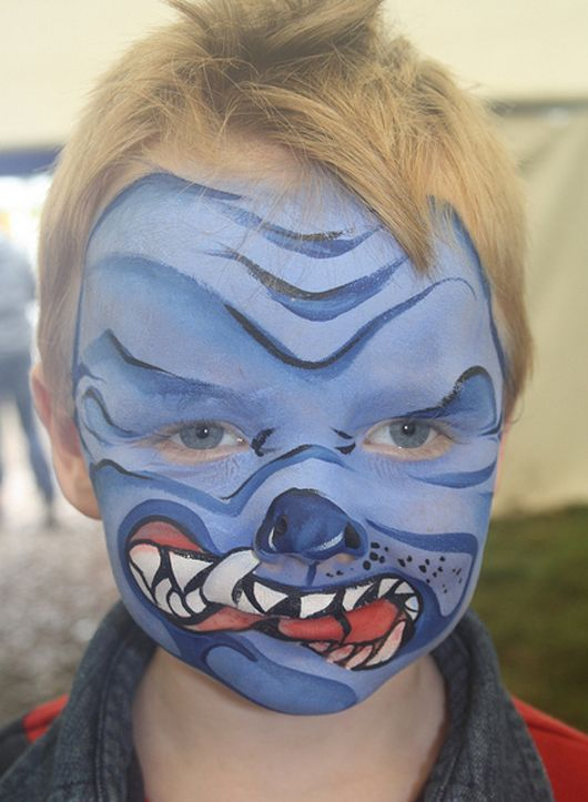 Face Painting For Kids Cute And Scary Ideas Image Search Results