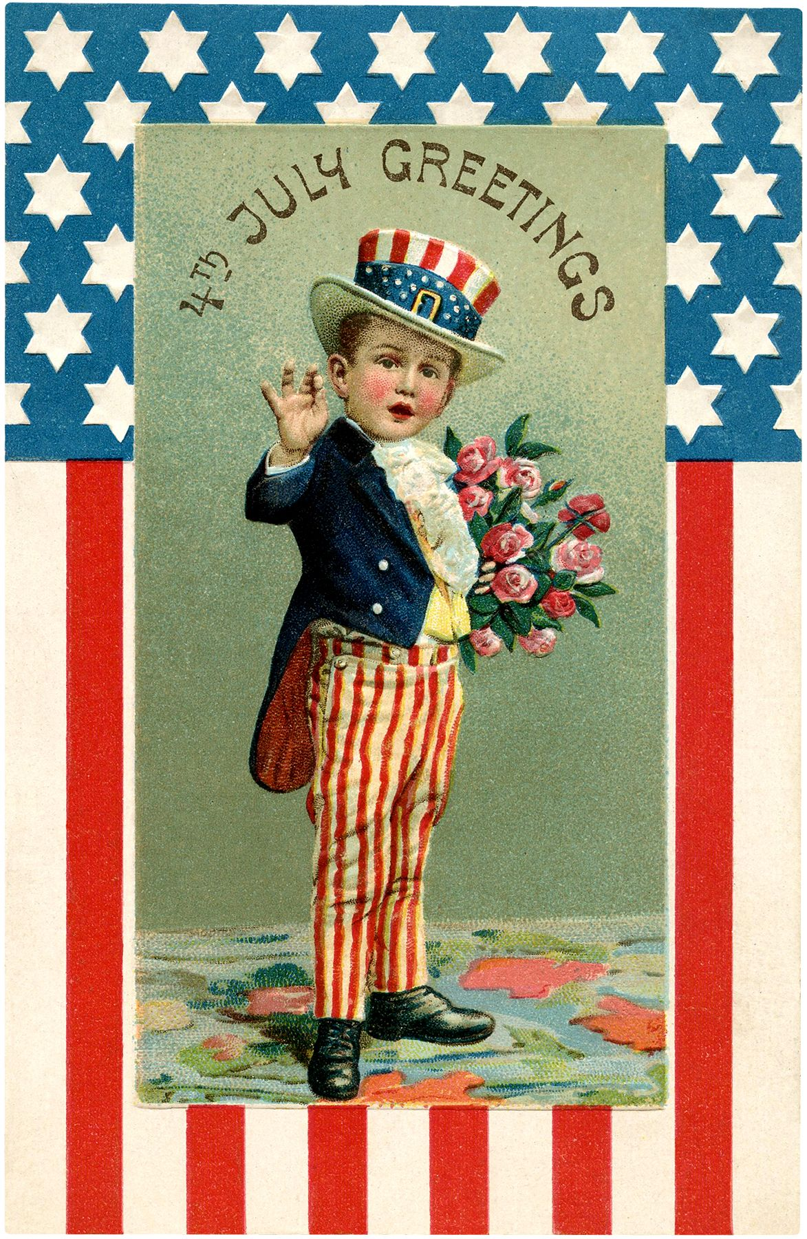 14 4th Of July Kids Images