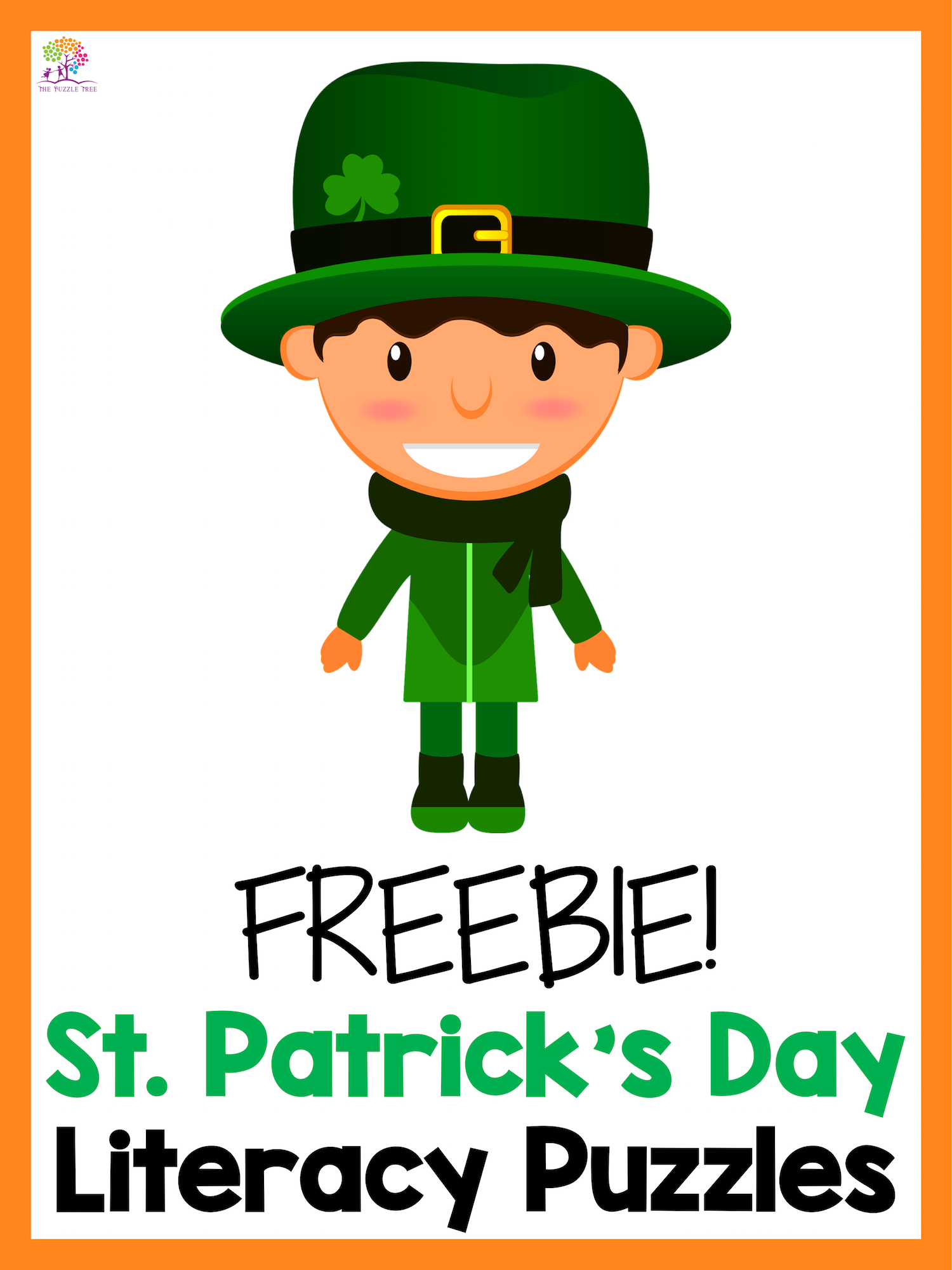 St Patrick S Day Free St Patrick S Day Literacy Puzzle